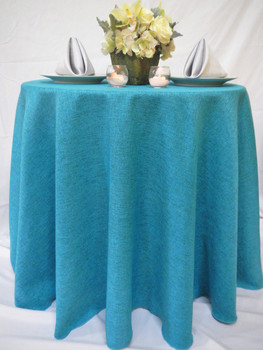 Dublin Rustic Faux Irish Tablecloth Linen