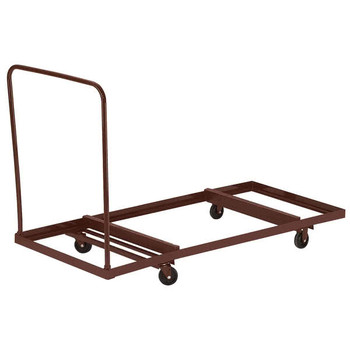 "12-Capacity Storage and Transport Dolly For Up To 72"" Long Folding Tables By National Public Seating"