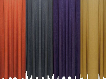 5 ft Wide Panama Rustic Textured Drapes