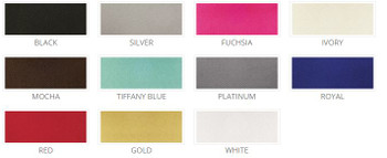 5 ft Wide Poly Satin Drapes