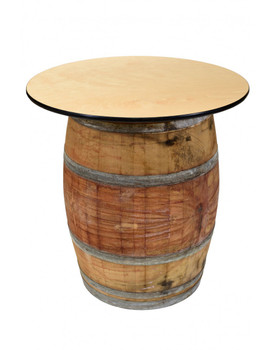 "36"" Wine Barrel Cocktail Table"