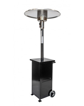 Rhino Series Collapsible 41,000 BTU/hour Output Patio Heater-Black