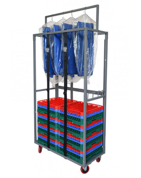 Premier Glassware Rack & Linen Dolly
