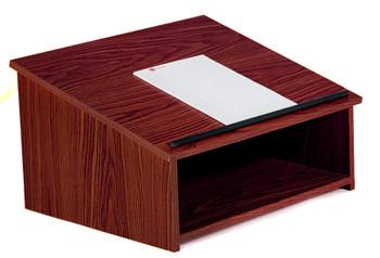 Tabletop Presentation Lectern (OKS-22) Mahogany