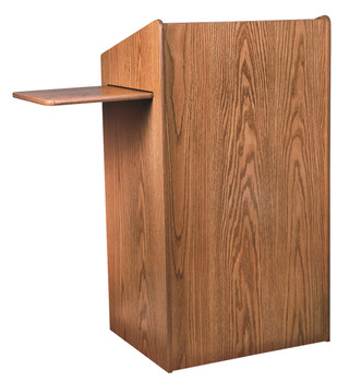 Aristocrat Floor Lectern By Oklahoma Sound (OKS-600) Medium Oak