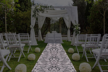 "30""W Animal Print  Aisle Runner"