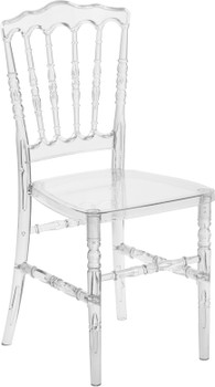 Napoleon Crystal Ice Stacking Chair