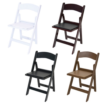 Rhino Series Resin Folding Chair - 1000 lb. Capacity - Wedding Garden Style