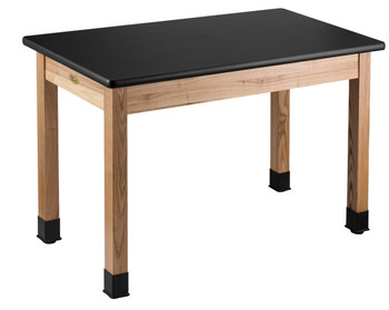 Science Lab Table With Chemical and Water Resistant Top By National Public Seating