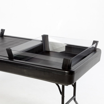 Full Depth Extension - Black For Fill N Chill Tables
