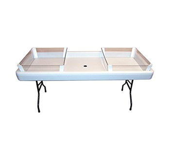 2/3 Depth Extension Kit - White For Fill N Chill Tables