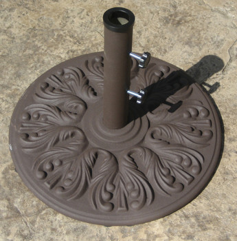 Galtech 40 lb. European Premium Cast Iron Umbrella Stand, Model 040