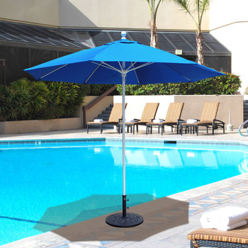 Galtech 9-ft. Aluminum Umbrella With Manual Lift, Model 735 (GA735)