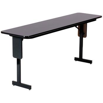 Correll Panel Leg High-Pressure Laminate Seminar Training Folding Table (CL-SPPX)