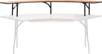 Classic Series Serpentine Bar Top Riser