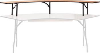Classic Series Serpentine Bar Top Riser