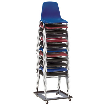 12-Capacity Square Stack Chair Dolly By National Public Seating, Model DY-81
