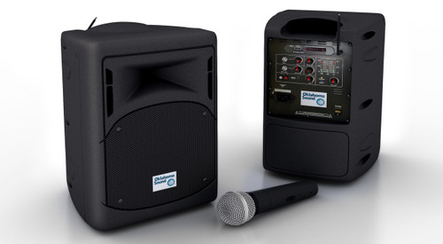 "Pro Audio PA System By Oklahoma Sound - 17""H x 11""W x 11""D"