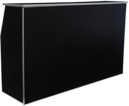 "Premier Series Portable Folding Bar with Storage Bag - 72"" Wide - Black Laminate - Free Shipping"