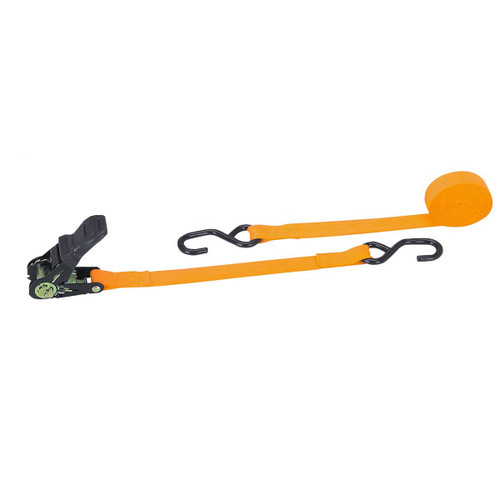 400 lb. Capacity 1 in. x 15 ft. Ratchet Strap - 1200 lbs