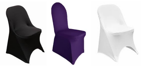 Spandex Chair Covers - 10+Colors-20+Free Ship