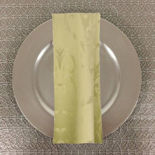Dozen (12-pack) Chopin Damask Table Napkins