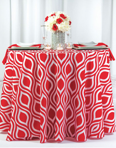 My Party Geometric Print Polyester Tablecloth Linen - 10+Sizes-20+Free Ship