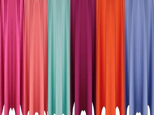 5 ft Wide Matte Satin Drapes - 3 Sizes-30+Colors-20+Free Ship