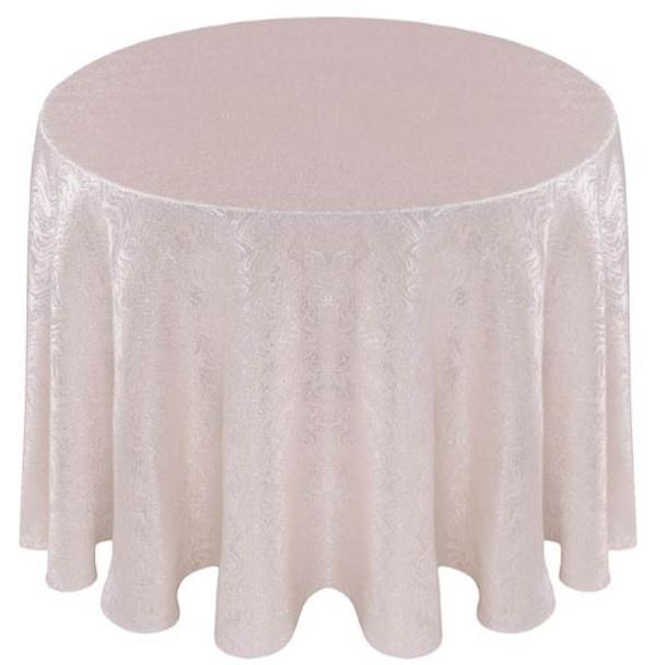 ... Cabaret Taffeta Tablecloth Linen White ...