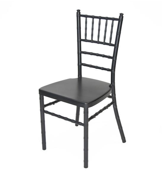 Classic Series Aluminum Chiavari Chair-Black
