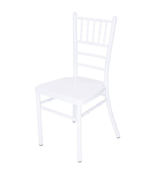 Classic Series Aluminum Chiavari Chair-White