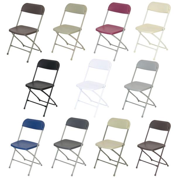 Plastic Folding Chair Premium Rental Style