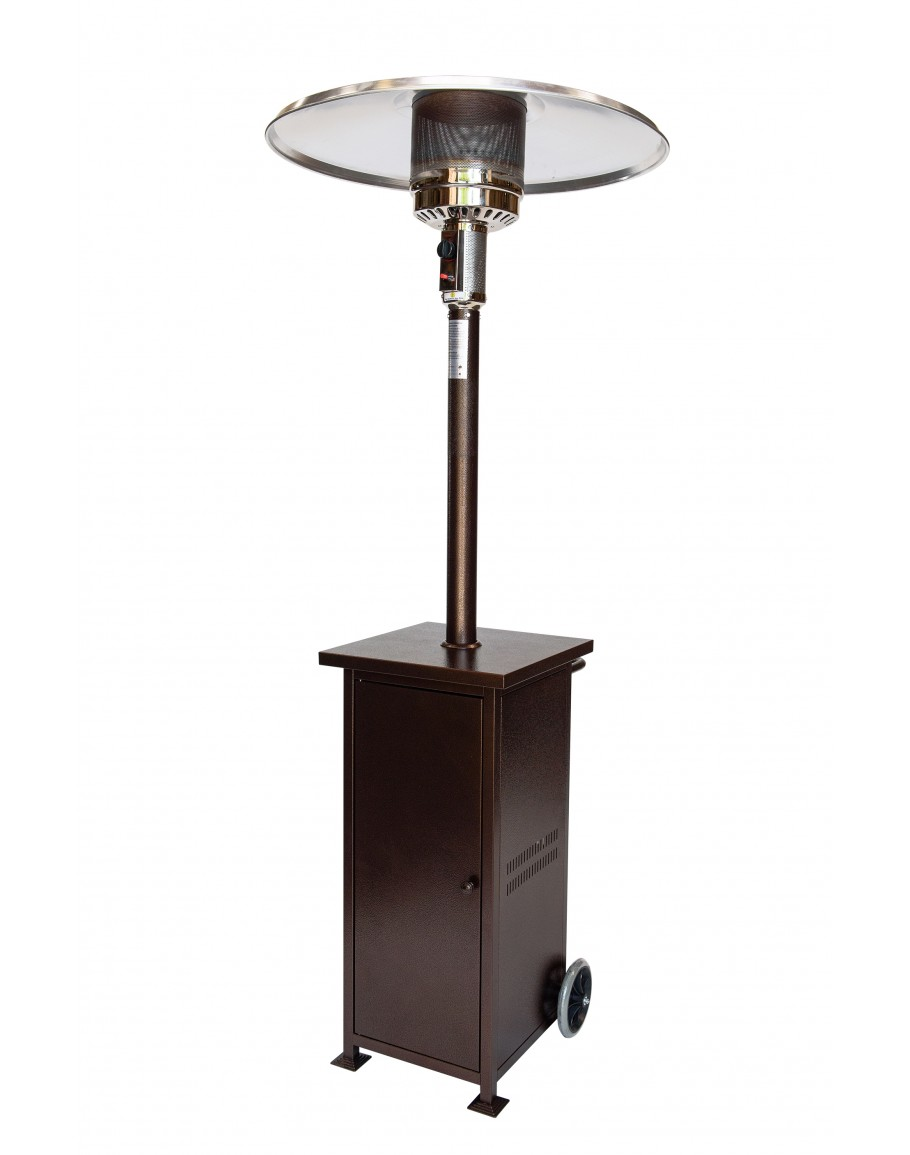 Rhino Series Collapsible 41,000 BTU/hour Output Patio Heater Bronze ...