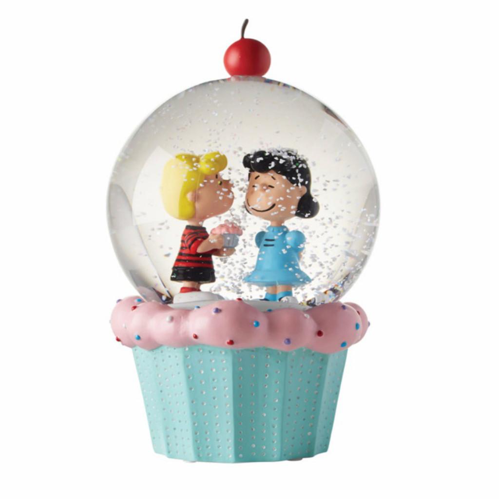 *New for 2017* Peanuts Cupcake Water Globe