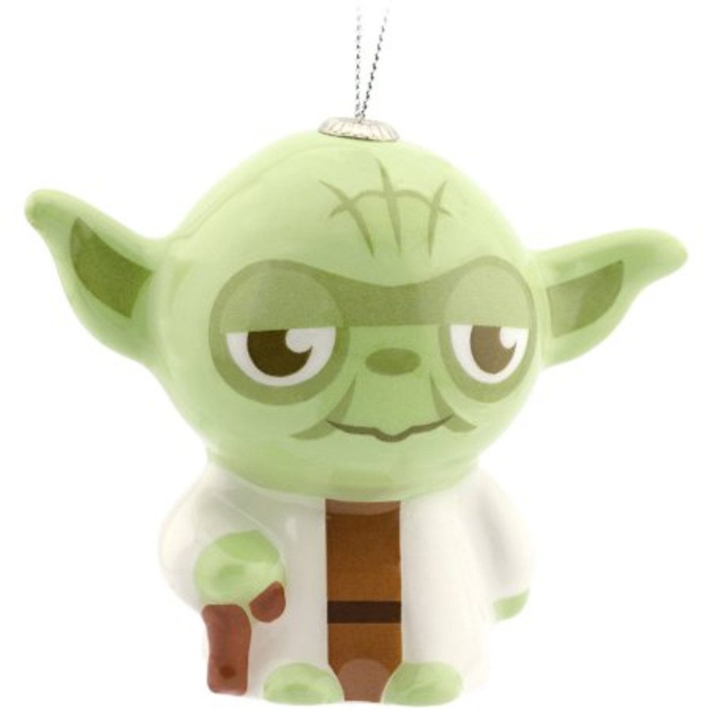 Hallmark Star Wars- Deco Yoda Ornament