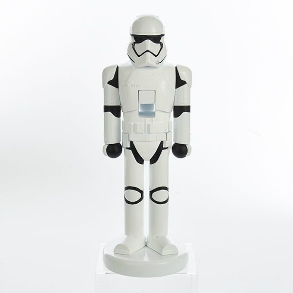 "Kurt Adler - 10"" Star Wars First Order Storm Trooper Nutcracker"