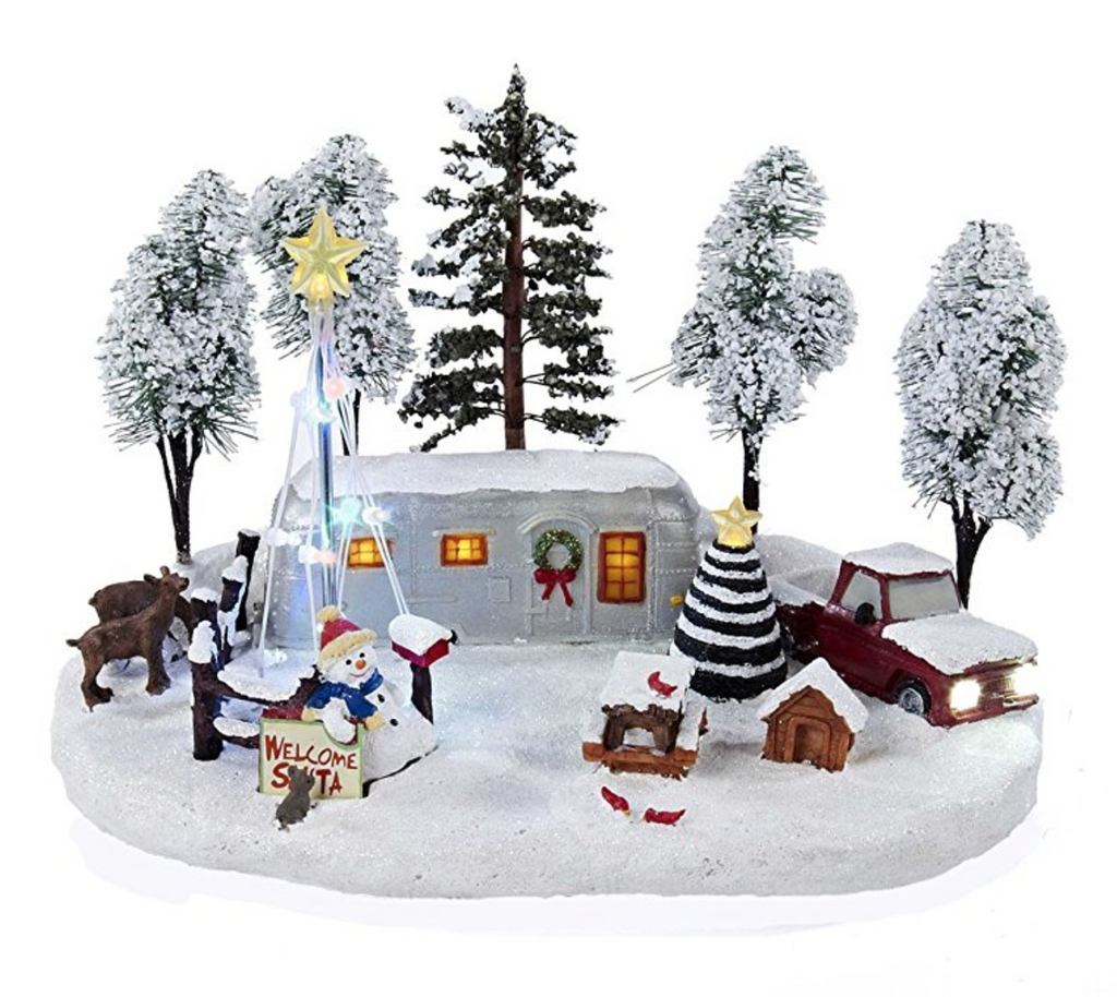 Kurt Adler Battery-Operated Christmas LED Scene