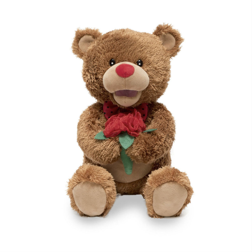 Plush Animated 'Beary Smooth' (sings Lets Get It On)