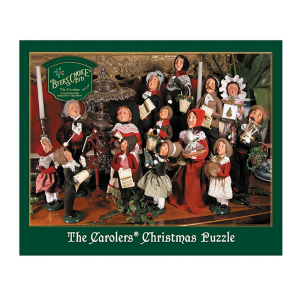 Byers Choice- The Carolers Puzzle