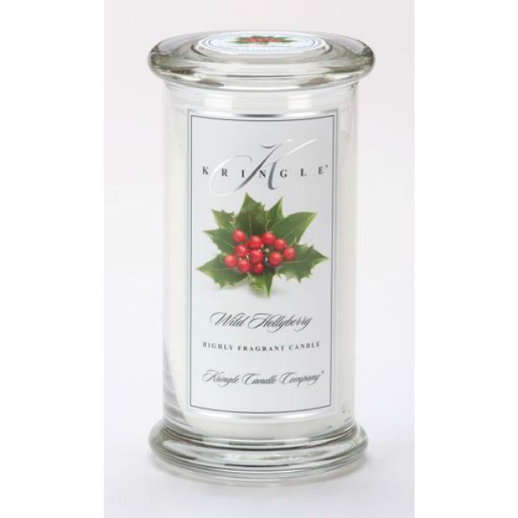 Kringle Candle- Wild Hollyberry 15 oz.