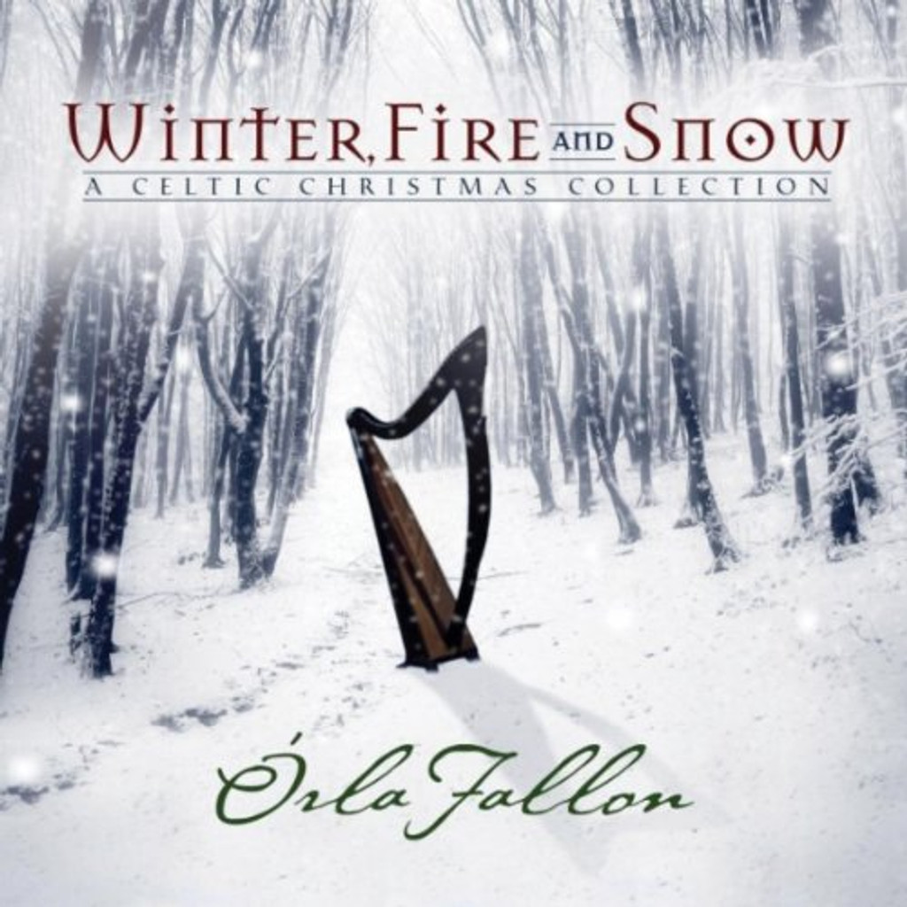 CD - Winter, Fire and Snow- A Celtic Christmas Collection by Orla Fallon