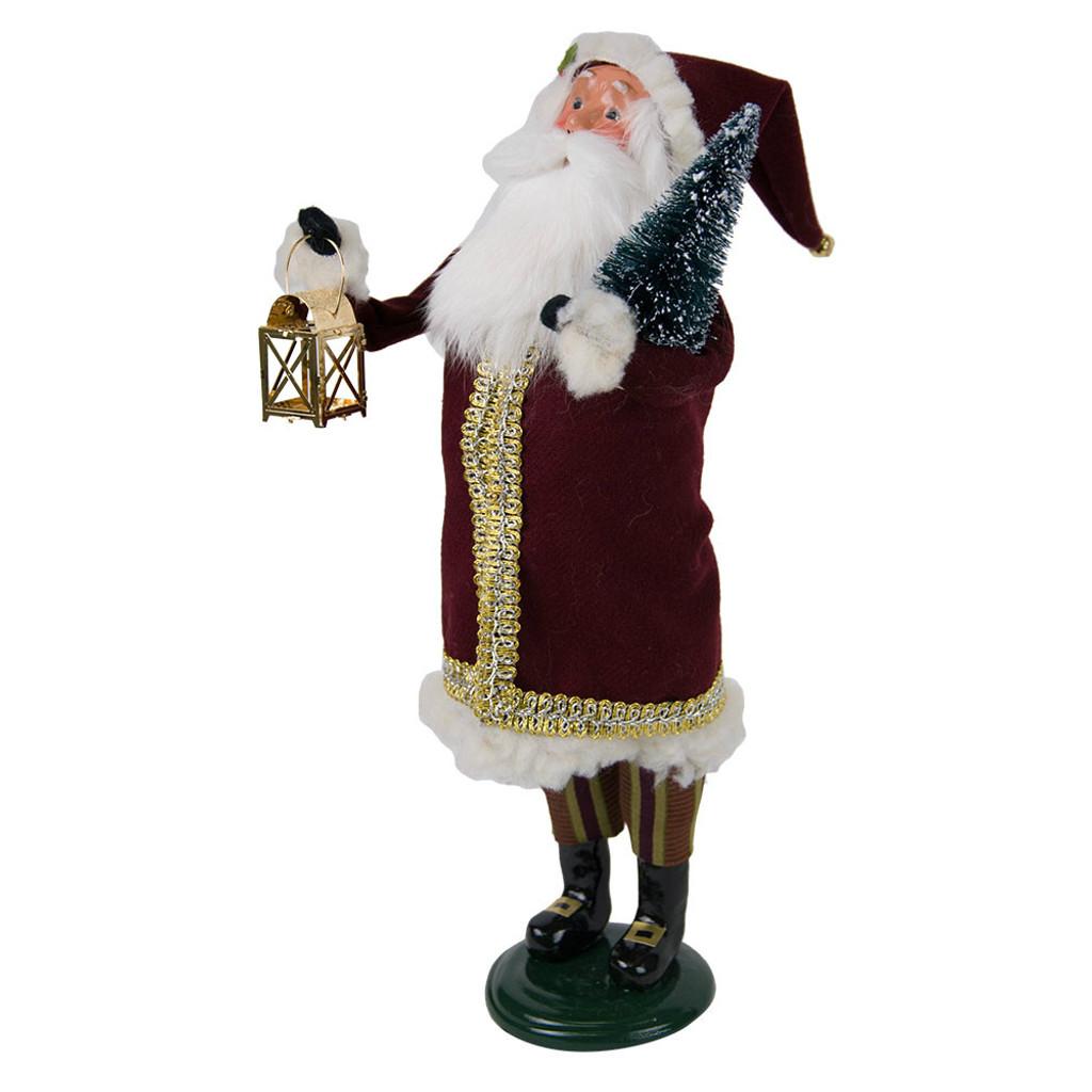 Byers' Choice - Maroon Santa Caroler 2018