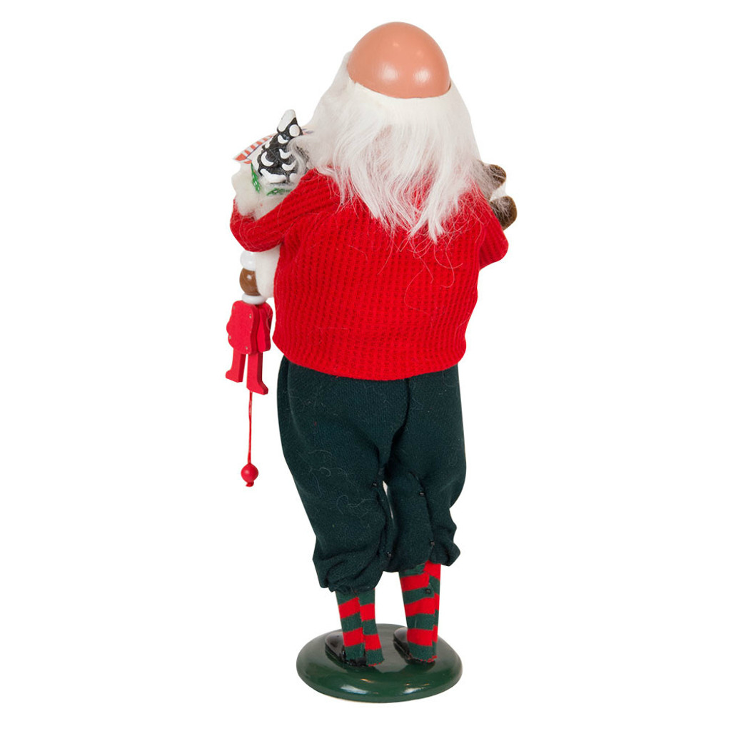 Byers' Choice - Bald Santa With Letters Caroler 2018