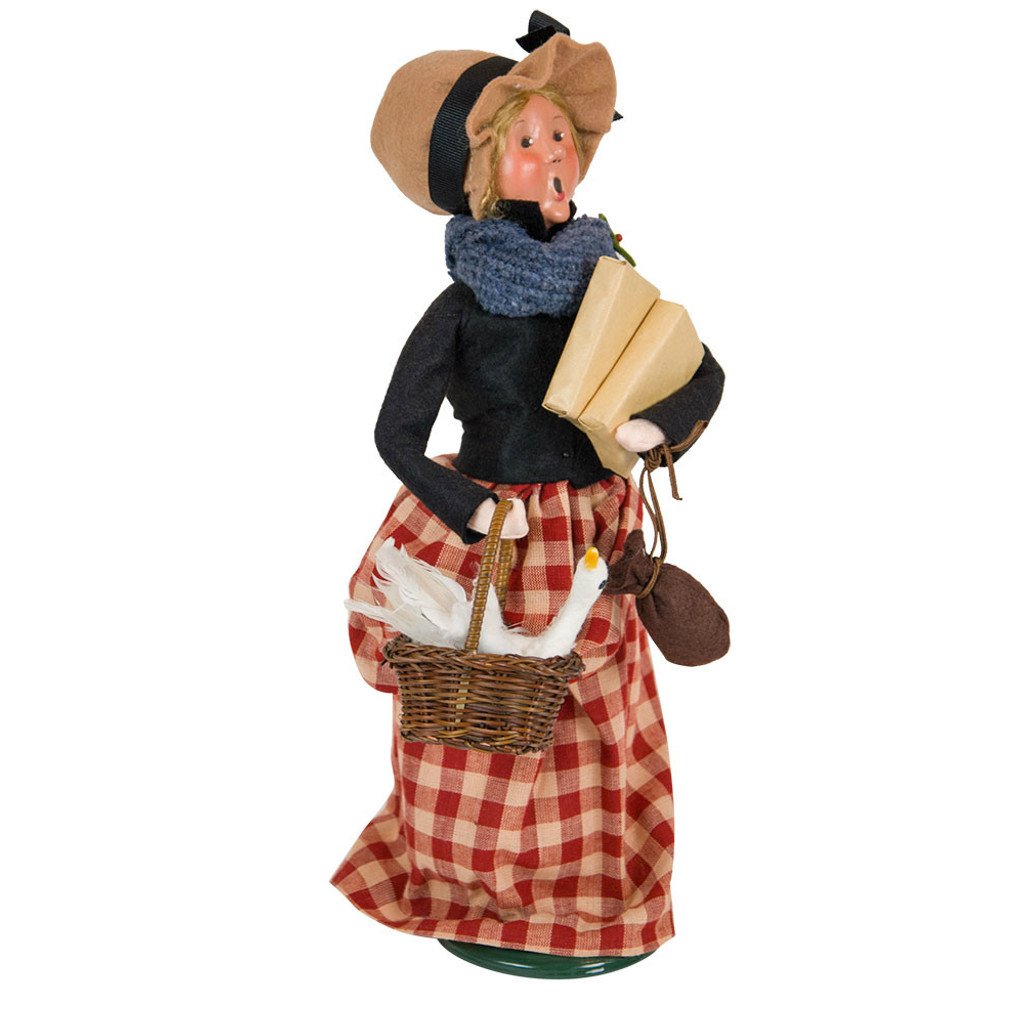 Cries of London Woman with Goose Caroler side image