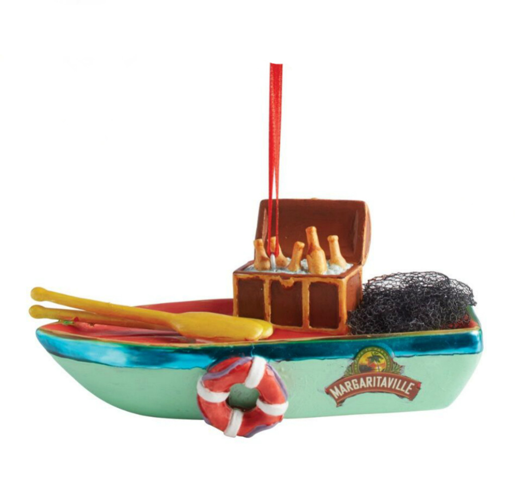 Department 56 - Margaritaville Boat Ornament