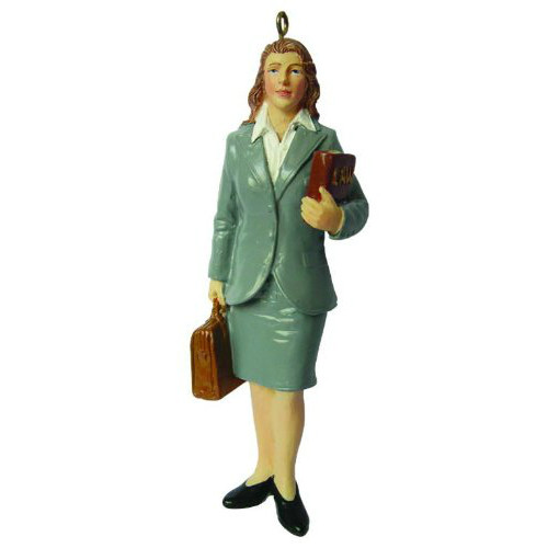 Female Lawyer Ornament