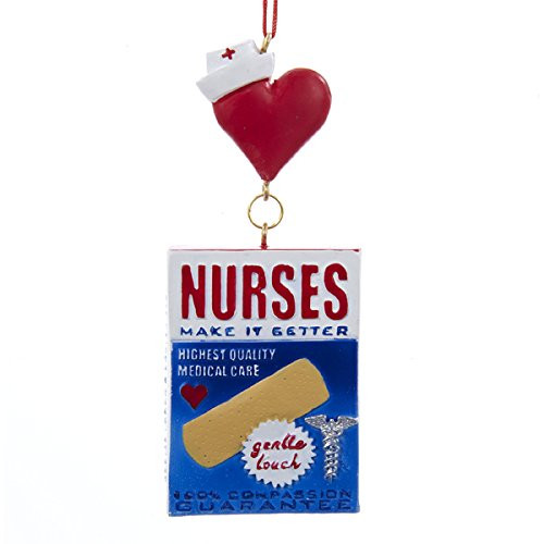 Personalize- Nurses Bandage Box Ornament