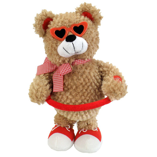 "Chantilly Lane - Sugar Pie Bear Sings ""Sugar Pie Honey Bunch"" Plush"
