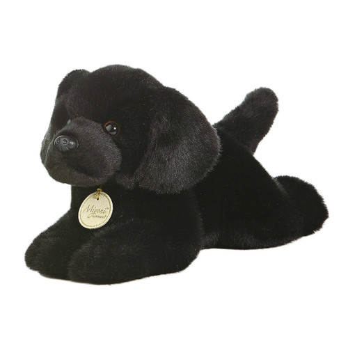 Aurora World Miyoni Black Lab Plush Toy 11""