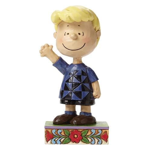 "Jim Shore- Peanuts - ""Piano Prodigy"" Schroeder"